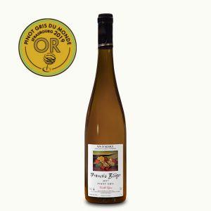 Bouteille de Pinot gris vieille vigne